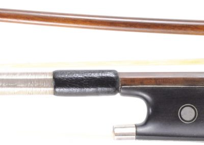 "German Pernambuco Violin bow this the style of JBV, ""VUILLIAME"" Stamp, 58 grams"