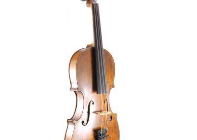 German made faked antique 1703 Italian violin, 'David Tecchler Liutaro'